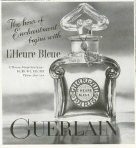 LHeure Bleue vintage ad1