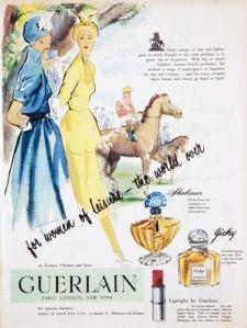 Jicky and Shalimar vintage ads