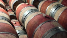 Hess Collection Wine Barrels